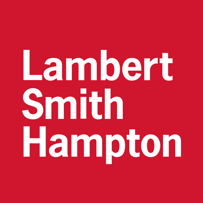 Lambert Smith Hampton corporate logo letting agents at Doghouse Reading